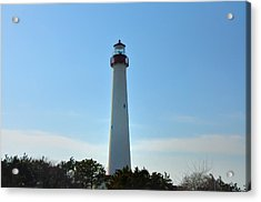 The Beacon Of Cape May Acrylic Print by Bill Cannon