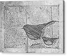The Birds Acrylic Print by Tripti Singh