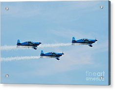 The Blades Aerobatic Team Acrylic Print