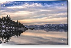 The Calm After Dawn Acrylic Print by Nancy Marie Ricketts