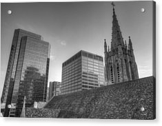 The Cathedral Of St. John The Evangelist Acrylic Print by William Ragan