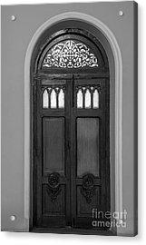 The Closed Door Acrylic Print