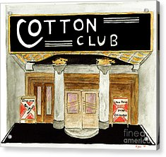 The Cotton Club Acrylic Print