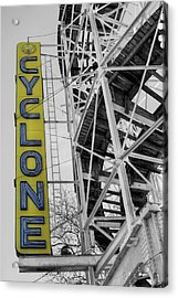 The Cyclone Acrylic Print by JC Findley