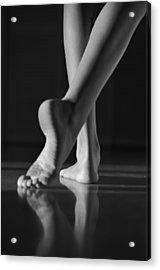 The Dance Acrylic Print by Laura Fasulo
