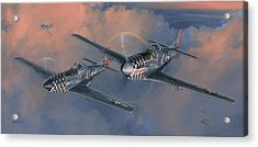 The Duxford Boys Acrylic Print by Wade Meyers