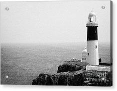The East Light Lighthouse Altacarry Altacorry Head Rathlin Island Ireland Acrylic Print by Joe Fox