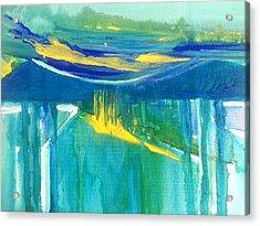 The Emerald Sea Acrylic Print