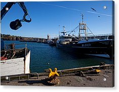 The Fishing Harbour, Dunmore East Acrylic Print