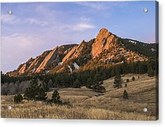 The Flatirons Acrylic Print