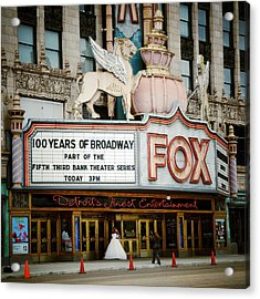 The Fox Theatre Acrylic Print