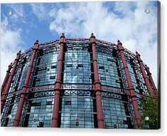 The Gasometer, Now Converted Acrylic Print