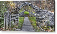 Acrylic Print featuring the photograph The Gateway by Wendell Thompson