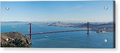 The Golden Gate Bridge Acrylic Print by Twenty Two North Photography