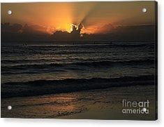 The Golden Glow Of Sunrise Acrylic Print by Noel Elliot
