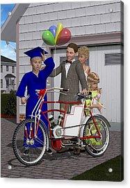 The Graduation Present Acrylic Print