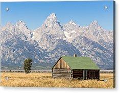 The Grand Teton Acrylic Print