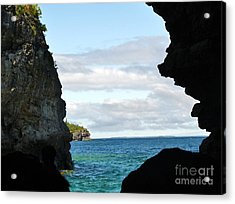 The Grotto Acrylic Print