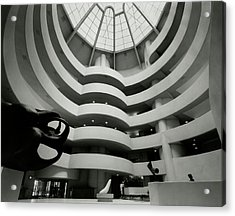 The Guggenheim Museum In New York City Acrylic Print