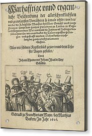 The Gunpowder Plot Conspirators Acrylic Print