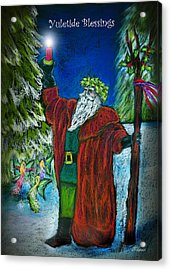 The Holly King Acrylic Print