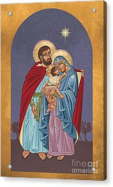 The Holy Family For The Holy Family Hospital Of Bethlehem 272 Acrylic Print by William Hart McNichols