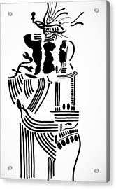 The Holy Family Acrylic Print by Gloria Ssali