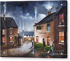 The Hundred House - Lye Acrylic Print