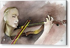 The Violin Acrylic Print