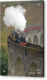 The Jacobite Steam Train Acrylic Print