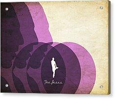 The Jesus Acrylic Print by Filippo B