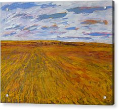 The Land Gives Acrylic Print