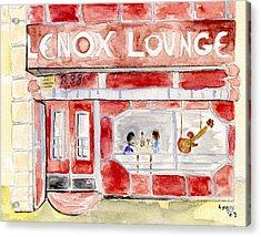 The Lenox Lounge Acrylic Print