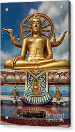 The Lord Buddha Acrylic Print by Adrian Evans
