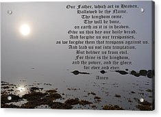 The Lord's Prayer Acrylic Print by Daryl Macintyre