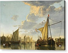 The Maas At Dordrecht Acrylic Print