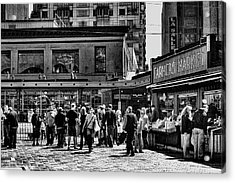The Market At Pike Place Acrylic Print