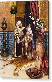 The Marriage Acrylic Print by Munir Alawi