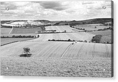 The Meon Valley Acrylic Print