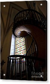 The Miraculous Staircase Acrylic Print by Gina Savage