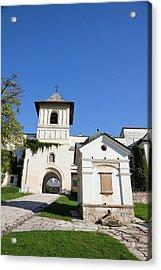 The Monastery Of Horezu (hurezi, Horez Acrylic Print by Martin Zwick