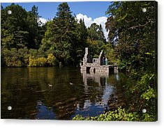 The Monks Fishing House, Part Of Cong Acrylic Print by Panoramic Images