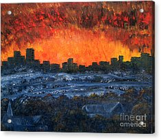 The Night The Lights Went Out Acrylic Print