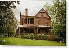 The Oaks - Home Of Booker T Washington Acrylic Print by Mountain Dreams