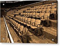 The Old Ballpark Acrylic Print by Frank Romeo
