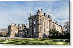 The Palace Of Holyroodhouse Acrylic Print