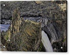 The Palouse Falls Acrylic Print by Gary Neiss