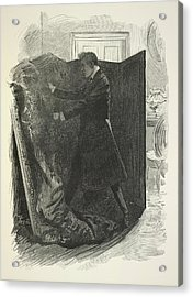 The Picture Of Dorian Gray Acrylic Print by British Library