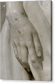 The Pieta Acrylic Print