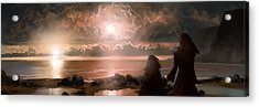 The Pioneers Acrylic Print by Mark Zelmer